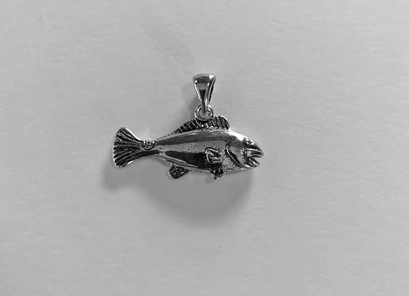 Small Red Fish Pendant