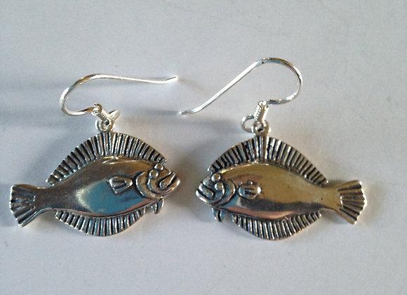 Flounder Earrings