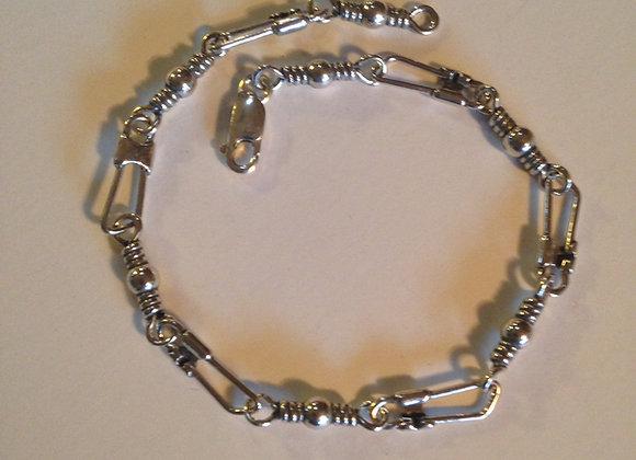 "10"" Swivel and Snap Hook Bracelet"