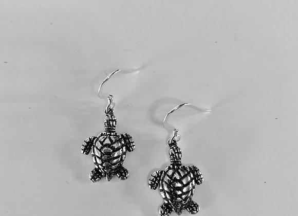 Saltwater Turtle Earrings