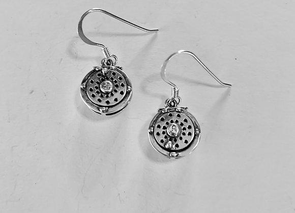 Fly Reel Earrings
