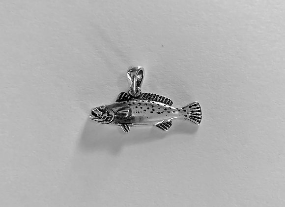 Small Speckled Trout Pendant