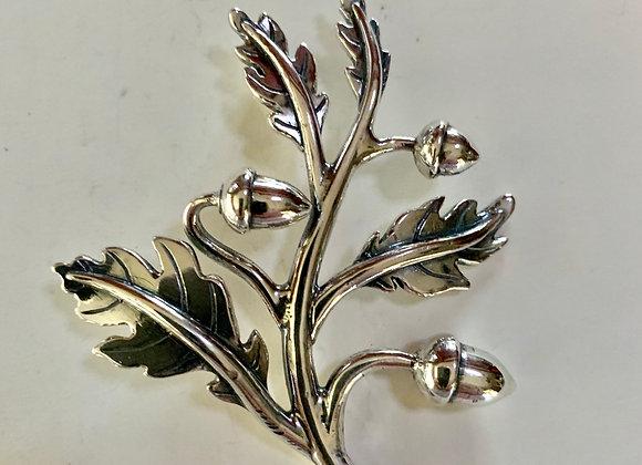 Acorn Leaf pendant