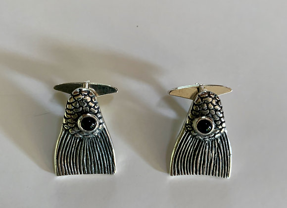 Redfish Tail Cuff Links