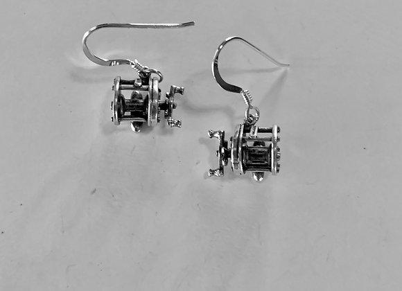 Casting Reel Earrings