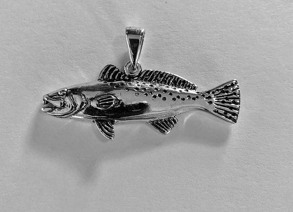 Large Speckled Trout Pendant