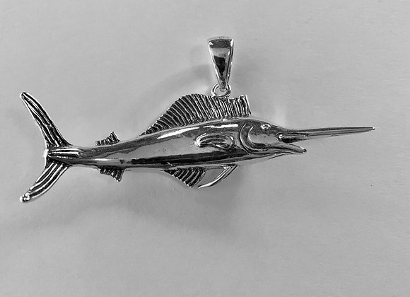 Extra Large Sailfish Pendant