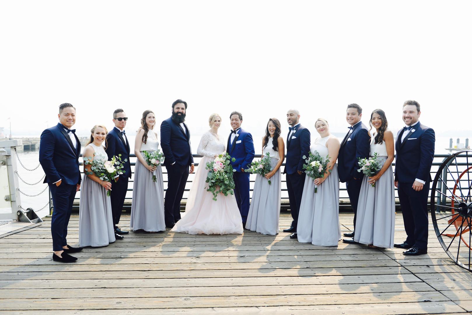 Pipe Shop Wedding Photo