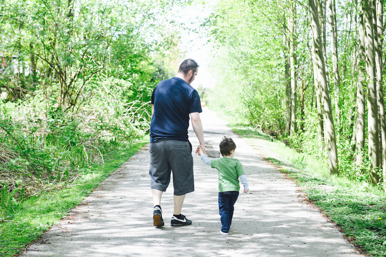 Father and Son Surrey Photography