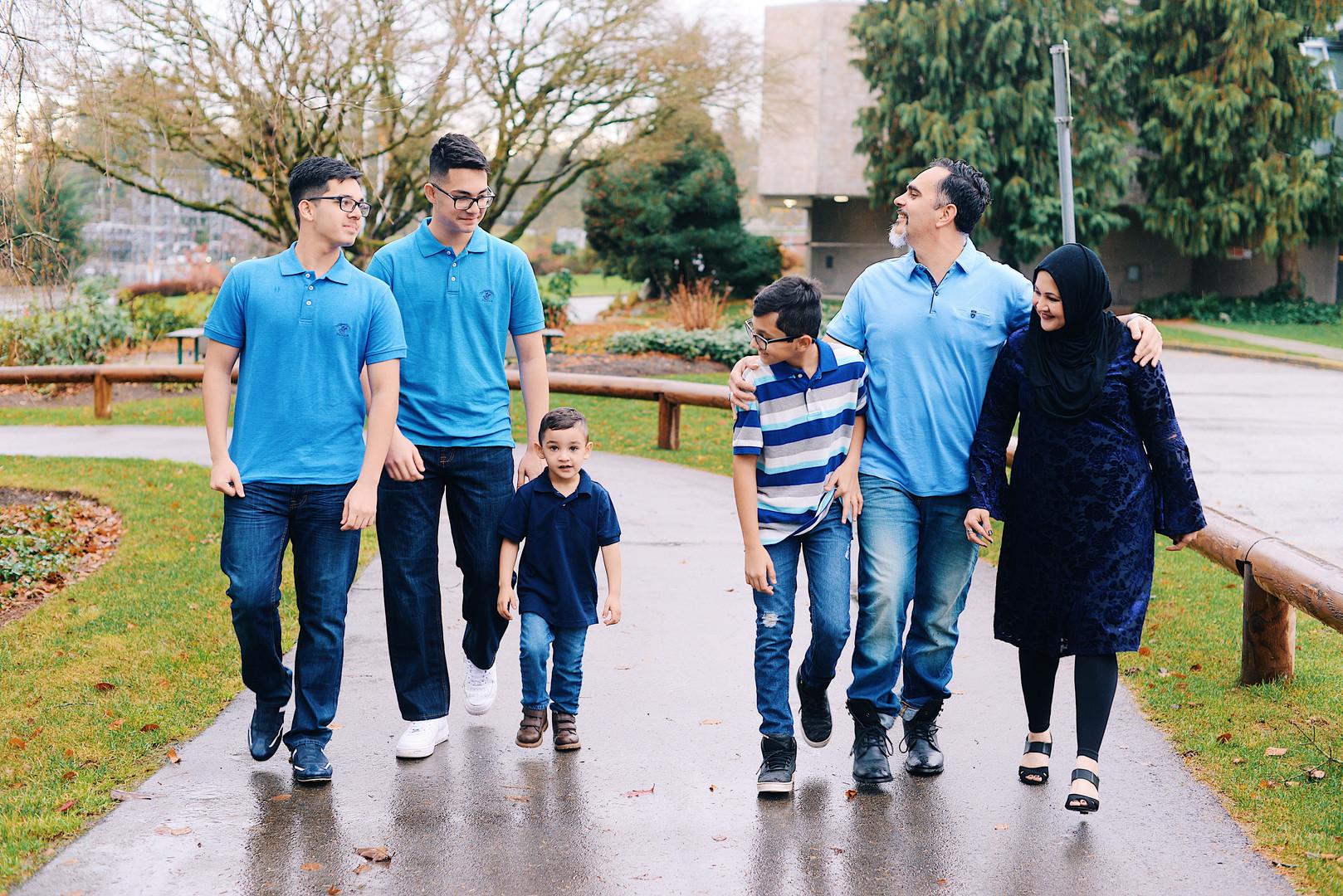 Family Walk Photo