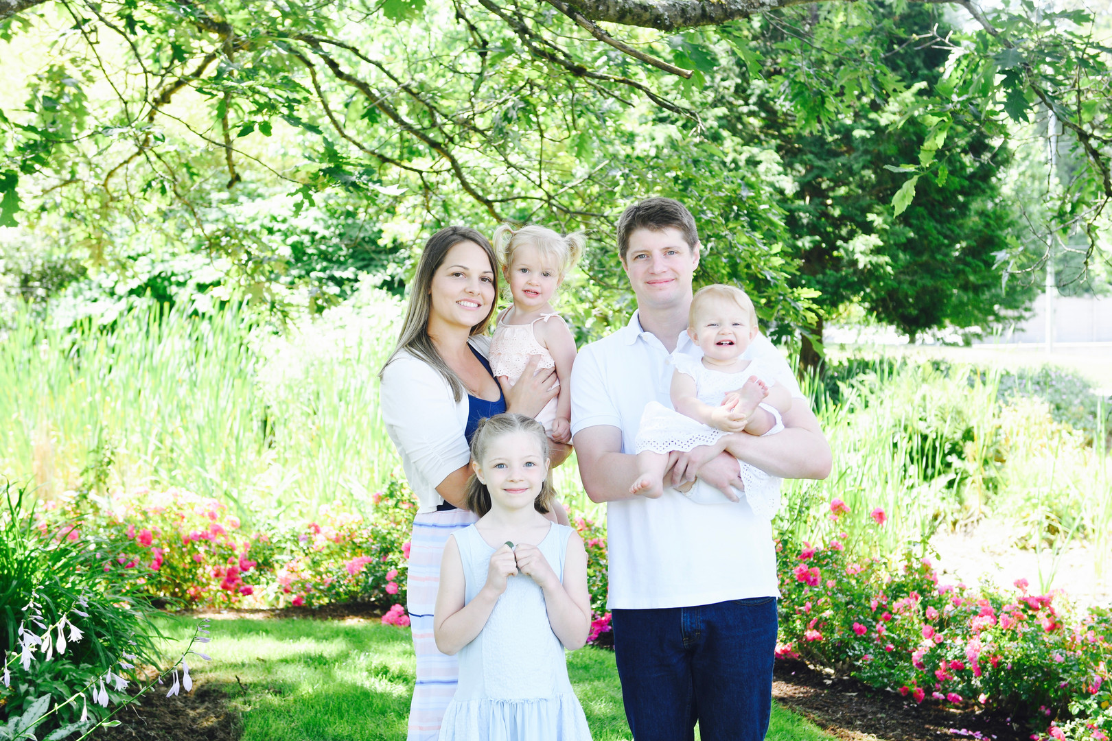 Surrey Traditional Family Photo