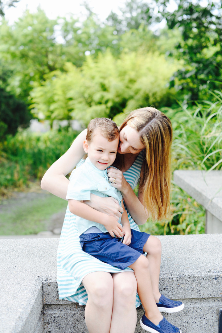 Mom and Son Photography