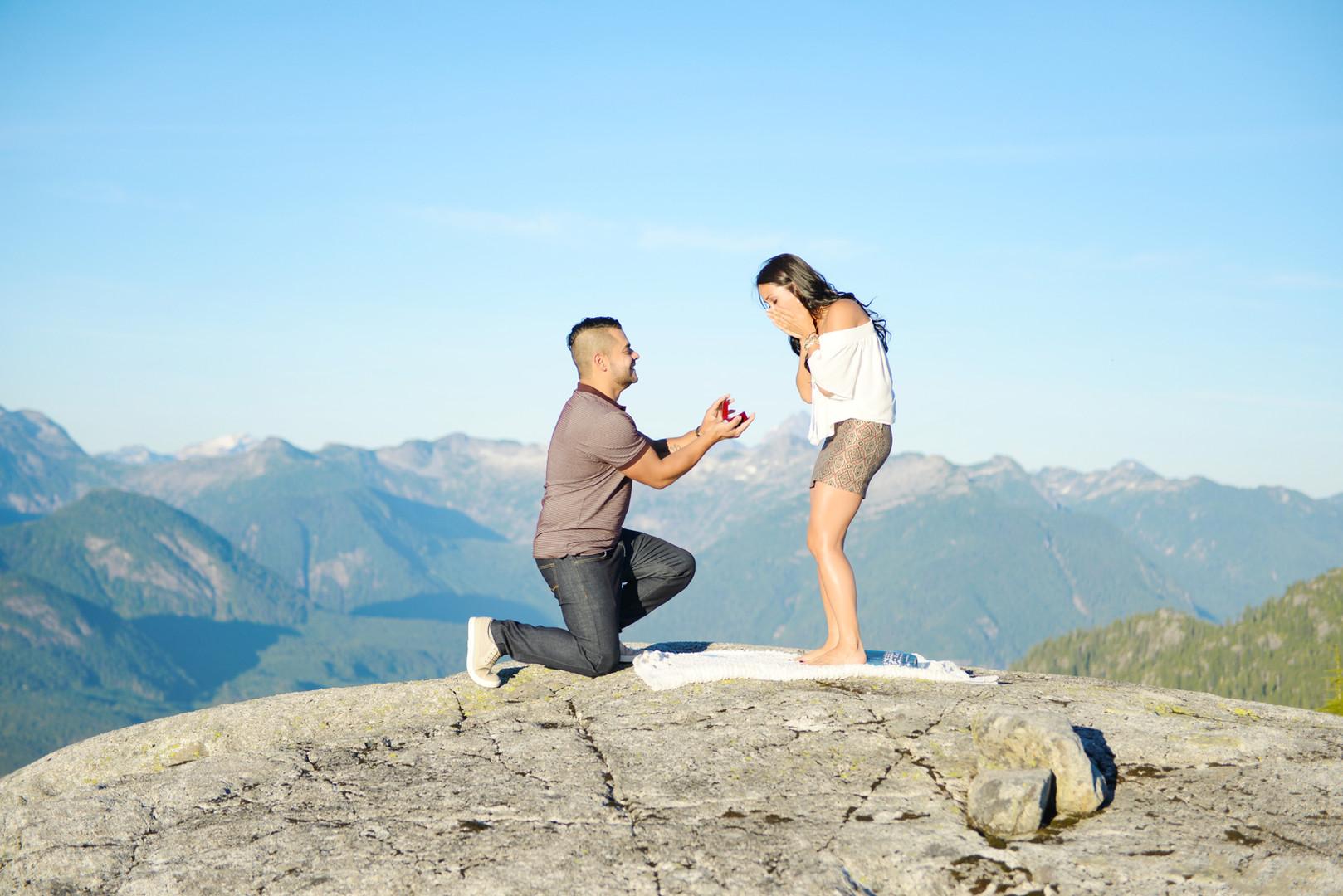 Mountain Proposal Photography