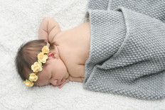 Newborn Flowercrown Photo