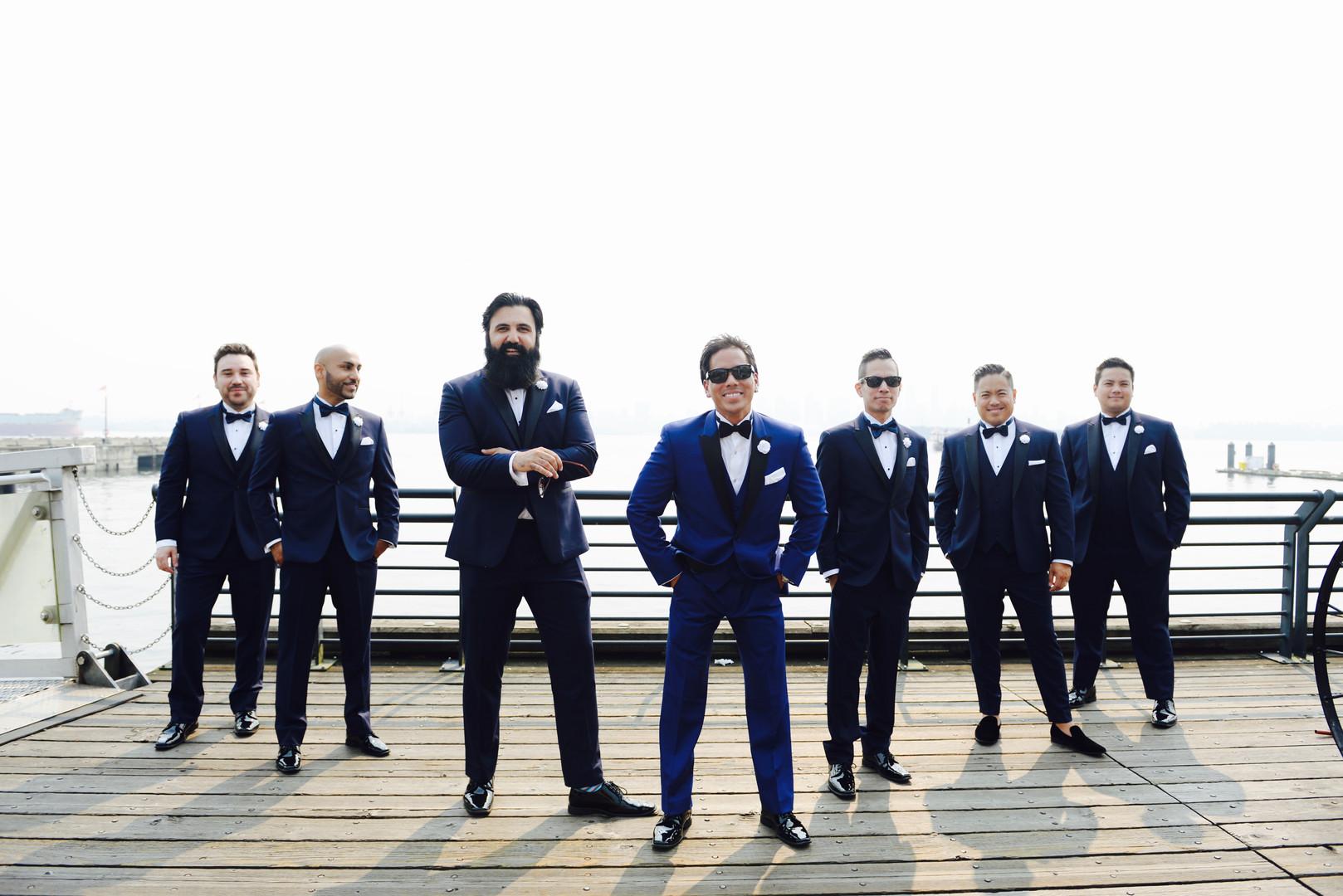 Vancouver Groomsmen Photo