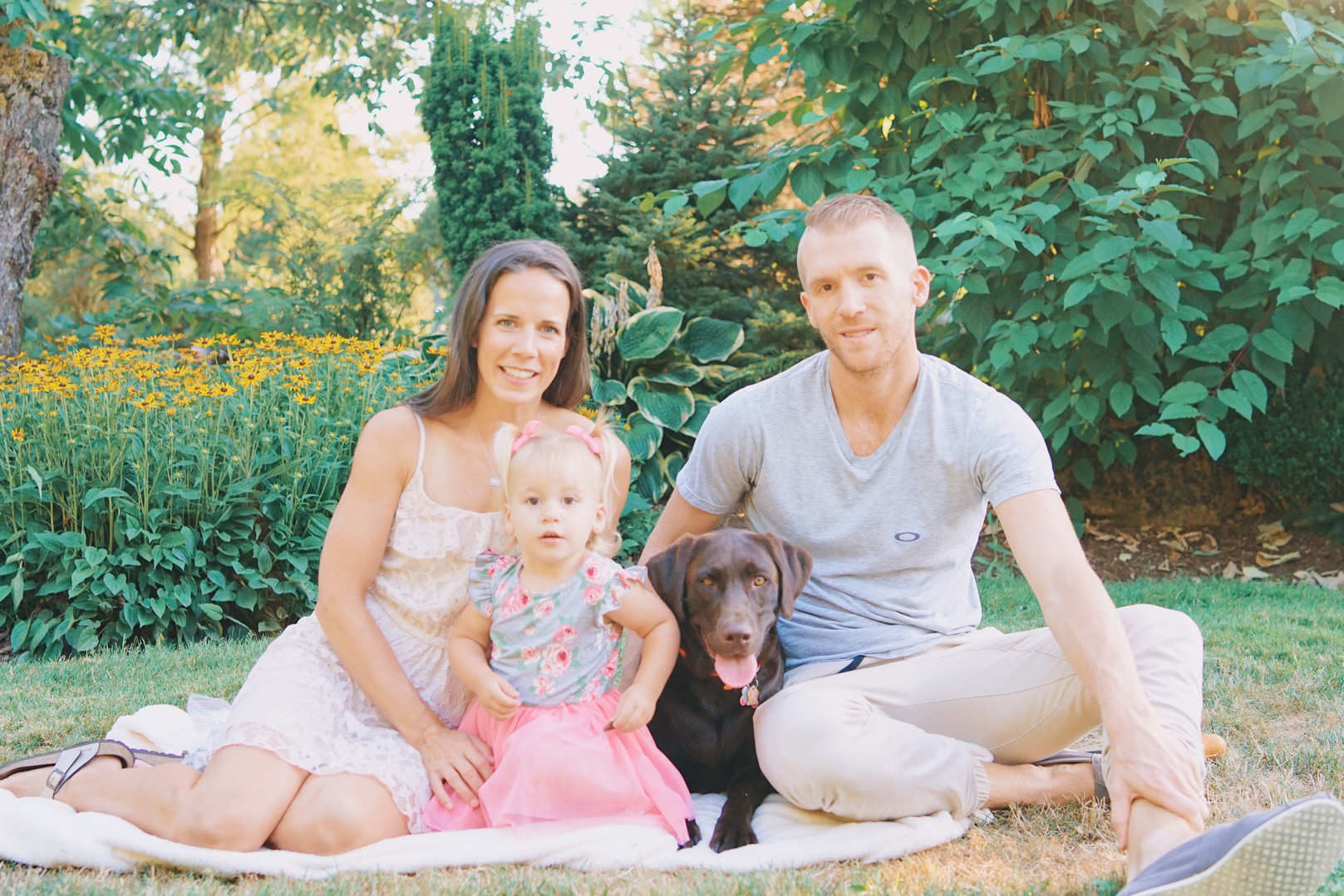 Family and Dog Photography