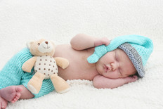 Newborn Photo Baby Sleeping
