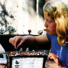 Casey Pasdach, Age 11, Planting Seeds (Image: Judy Pasdach)