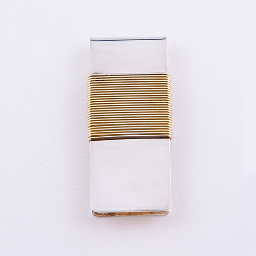 Sterling Manufactured Money Clip