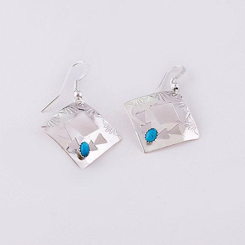 Navajo Sterling Earrings ER-0153