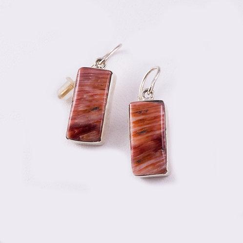 Ron Henry Sterling Spiny Oyster Earrings ER-0063