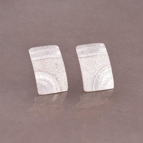 Howard Sice Navajo Sterling Earrings ER-0238