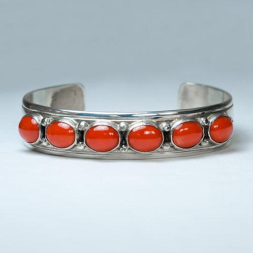 Jimmy Patterson Navajo Sterling Bracelet BR-0089