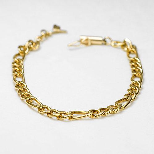 14k and Sterling Charm Bracelet