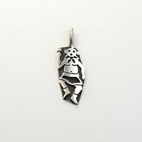 Hopi Sterling Pendant PE-0167