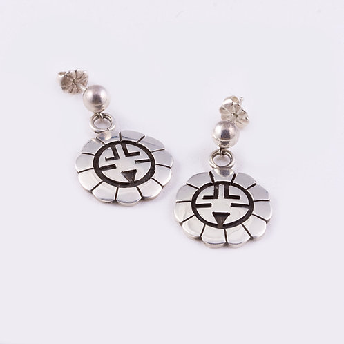 Hopi Sterling  Earrings ER-0020
