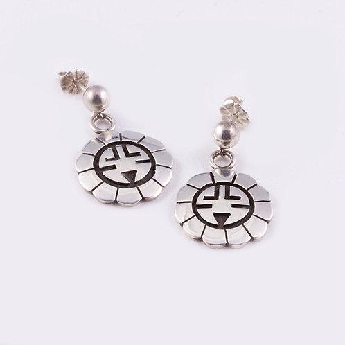 Hopi Sterling  Earrings ER-0020