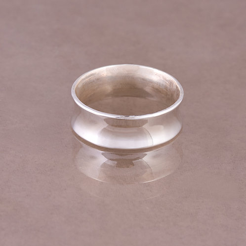 Carlos Diaz Sterling Con caved  Ring RG-0038
