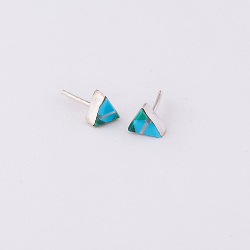 Zuni Inlay Earrings ER-0199