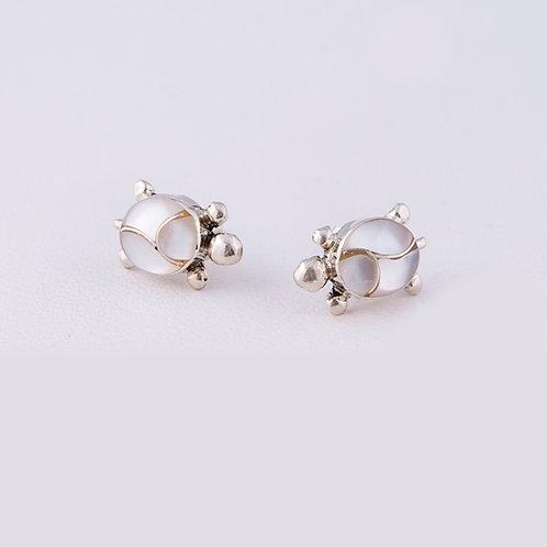 Zuni Sterling Turtle Earrings ER-0079