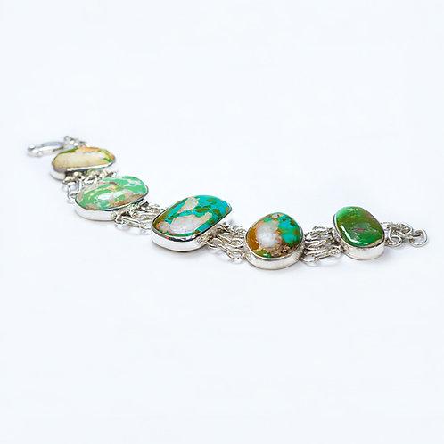 Carlos Diaz Sterling Royston Bracelet BR-0190