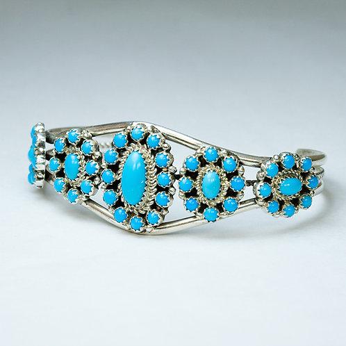 Zuni Turquoise Bracelet BR-0003