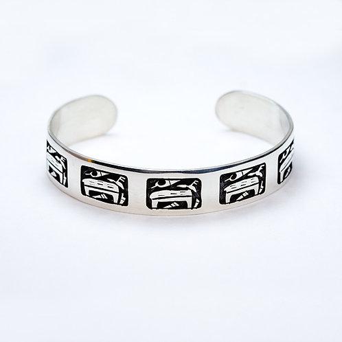 Hopi Sterling Bracelet BR-0126