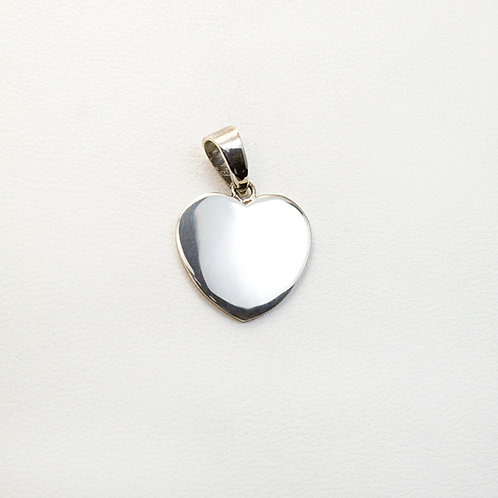 Carlos Diaz Sterling Heart Pendant PE-0183