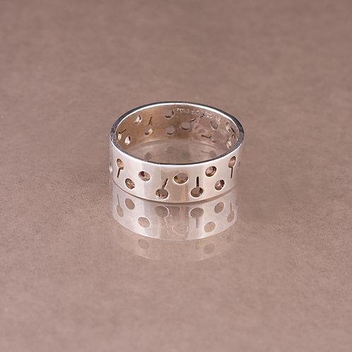 Carlos Diaz Sterling Lollipop Ring RG-0099