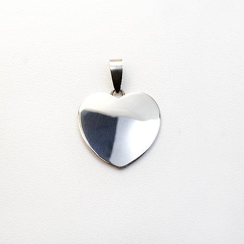 Carlos Diaz Sterling Heart Pendant PE-0187