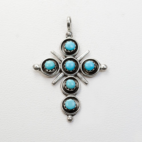 Zuni Sterling Cross PE-0061