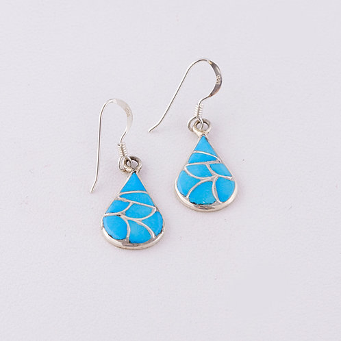 Zuni Inlaid Earrings ER-0099