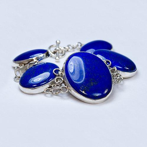 Carlos Diaz Lapis Link Bracelet BR-0193