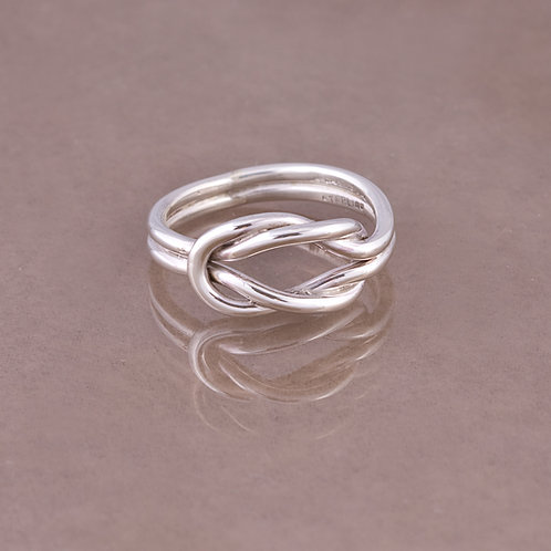 Carlos Diaz Sterling Twisted Wire Ring RG-0093