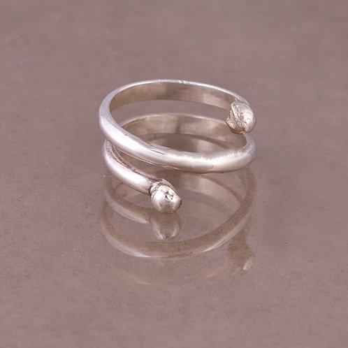 Carlos Diaz Sterling Wire Coil Ring RG-0073