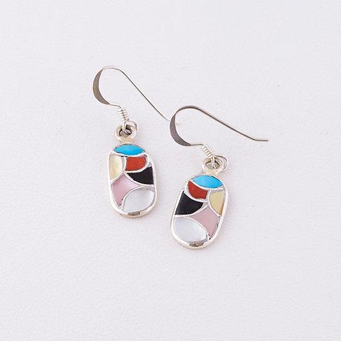 Zuni Inlaid Earrings ER-0095