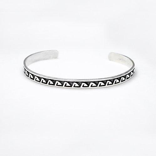 Hopi Sterling Bracelet BR-0120