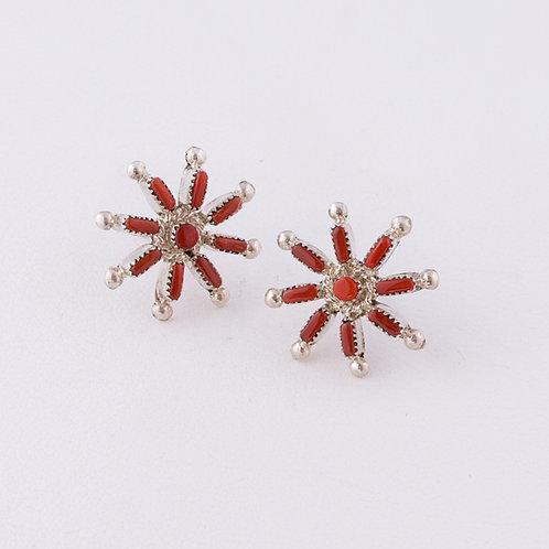 Zuni Petite Point Earrings ER-0125