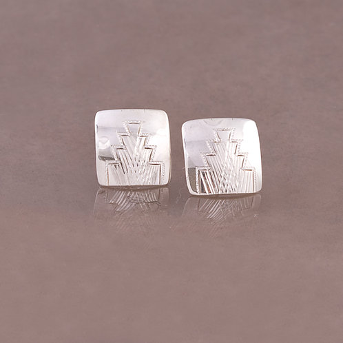 Howard Sice Navajo Sterling Earrings ER-0231