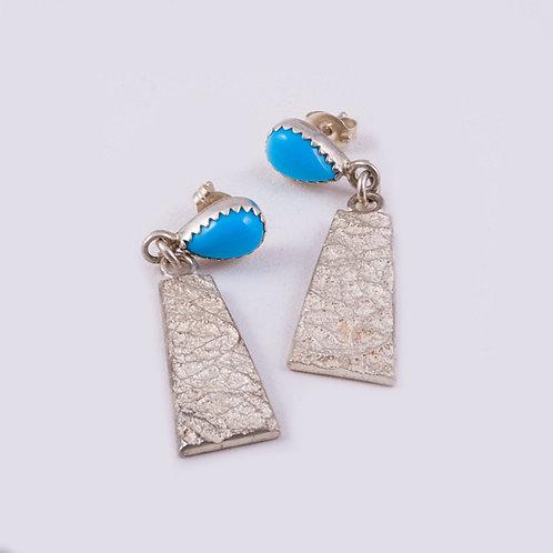 Peter Nelson Sterling Dangle Earrings ER-0051